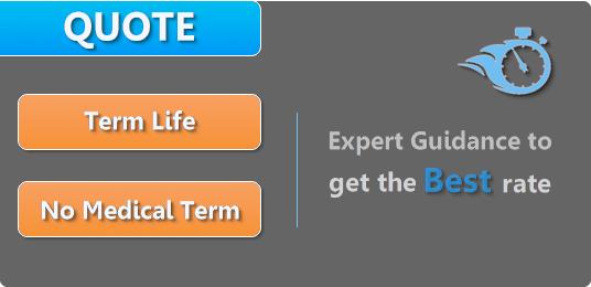 Online Quote For Term Life And No Medical Exam Life